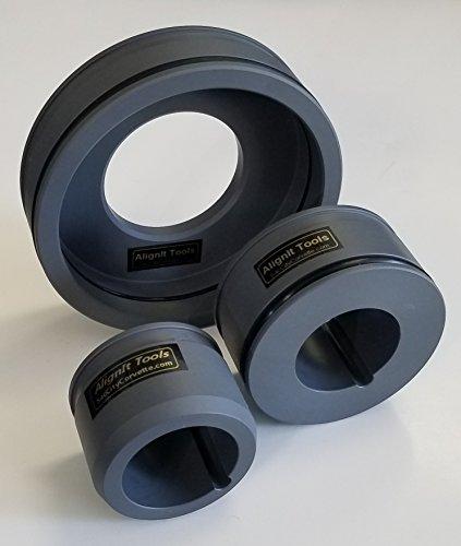 SacCityCorvette LS PVC Timing & Rear Main Cover Alignment Tools & Seal Installer GM Gen III & IV Engines LS1-LSA-2-3-6-7-9-LQ4-LQ9-4.8L-5.3L-6.0L-6.2L & More