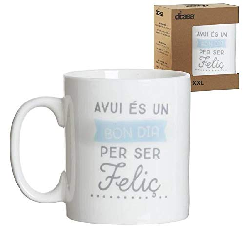 DCASA Mug Català Tazas de desayuno, No Aplica
