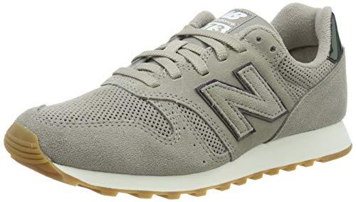 New Balance Damen 373 Sneaker, Grau (Grey Grey), 38 EU