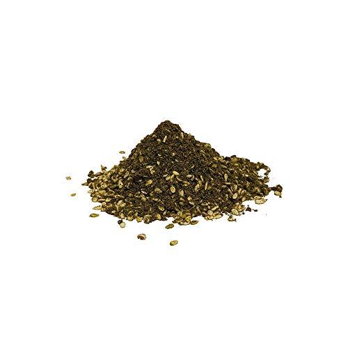 Mezcla de especias Zaatar - Mezcla de hierbas básicas en cocinas del Medio Oriente - Mezcla de especias aromáticas Za'atar - Especias veganas en polvo y sin OMG