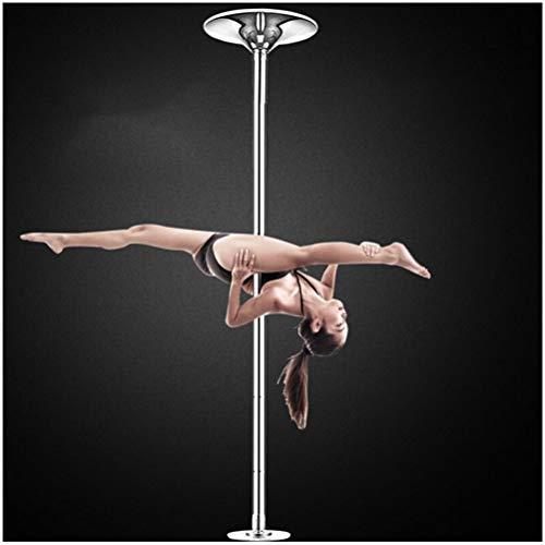 GAOJIAN Palo di Pole Dance Professionale Perdita di Peso Fitness Danza Portatile Senza Punch Pole Dance Pole Rotante statico
