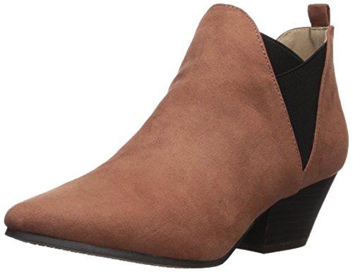 Qupid Women's RHYTHM-15 Ankle Boot, Cinnamon, 7 M US