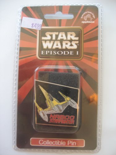 Star Wars Episode 1 Collectible Pin – Naboo Starfighter
