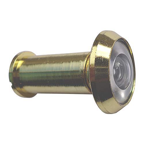 Olho Mágico Para Porta De 35 À 52 Mm 200° Fixtil Dourado