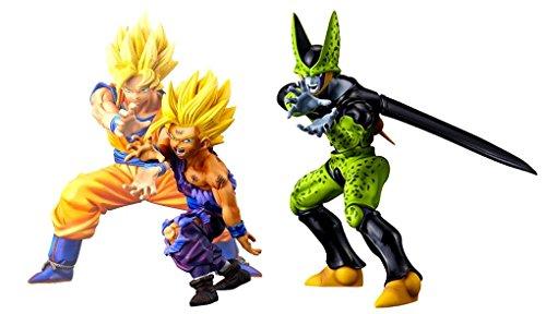 Dragon ball Z Dramatic Show Case 1st Season vol.1&2 set of 3 Goku Gohan Cell by Banpresto