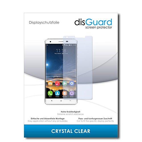disGuard® Bildschirmschutzfolie [Crystal Clear] kompatibel mit Oukitel K6000 Pro [2 Stück] Kristallklar, Transparent, Unsichtbar, Extrem Kratzfest, Anti-Fingerabdruck - Panzerglas Folie, Schutzfolie