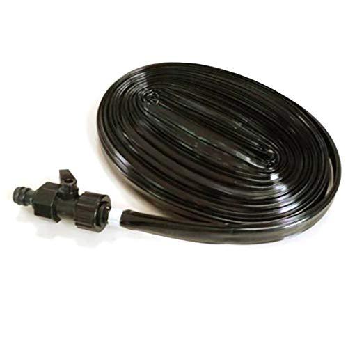 YYLL Trampolín Spray Tubo de Goteo del Tubo de Ahorro de energía Mini Boquilla, Spray Salto Cama de Agua del Tubo, for los Accesorios de trampolín al Aire Libre (Color : Black)
