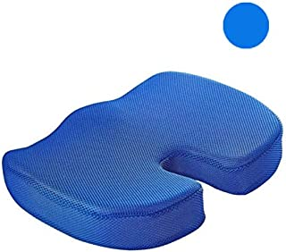 Ausear Comfortable gel seat cushion, office U-shaped cushion, memory foam cushion for beautiful buttocks, slow rebound and...