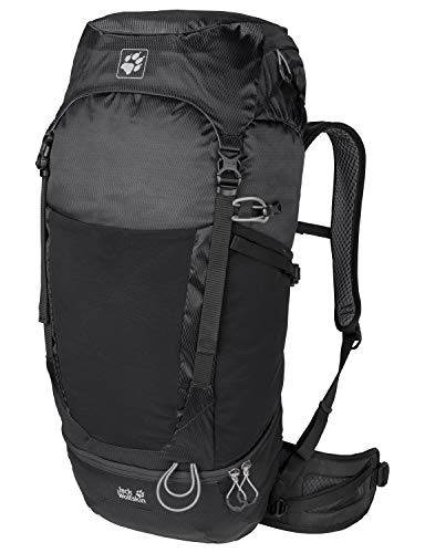 Jack Wolfskin Kalari Trail 42 Pack Sac à Dos Trekking Hiking Backpacks (à 45 L) Adulte Unisexe, Black, One Size
