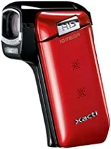 Sanyo Xacti CG10 Dual Camera HD Flash Memory Camcorder with 5x Optical Zoom (Red) (Discontinued by Manufacturer)