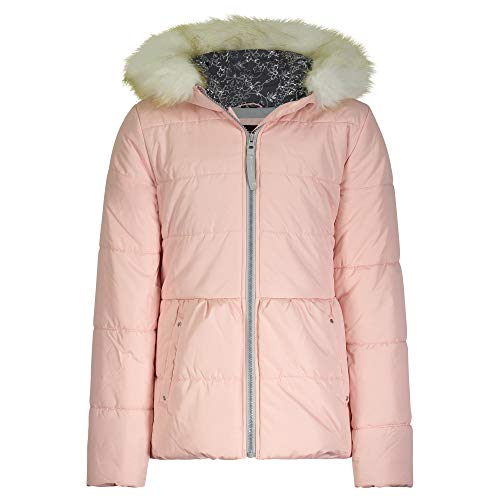 Jessica Simpson Mädchen Expedition Parka Daunenalternative, Mantel, rosa-Soft pink, 6X