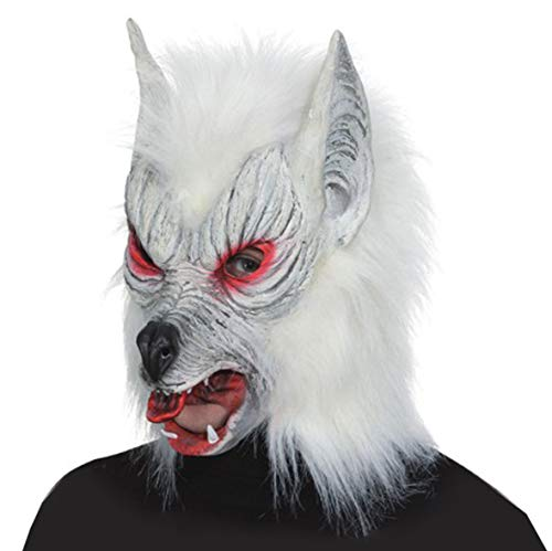 ORLOB Masque de Loup-Garou-Blanc