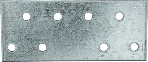 Connex Sparpack Flachverbinder 100 x 40 x 2 mm, verzinkt, 25 Stück, HVG1550