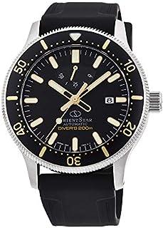[オリエント時計] 腕時計 オリエントスター スポーツ ダイバー 200m防水本格ダイバーモデル(ISO準拠) パワーリザーブ50時間 RK-AU0303B メンズ ブラック