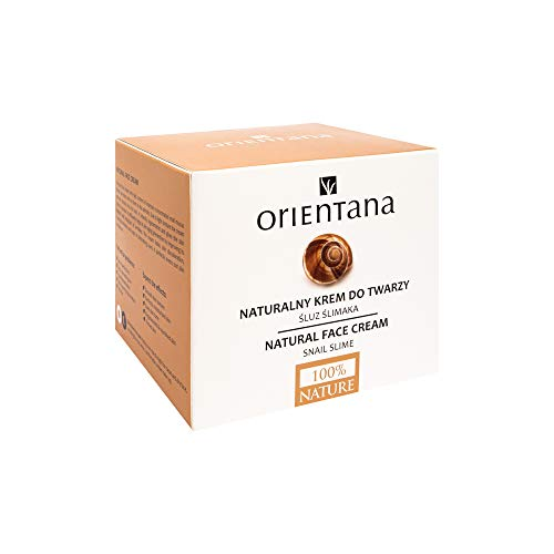 Orientana 98% NATURAL SNAIL FACE CREAM for Day and Night - ANTI Aging Wrinkle Pigmentation and...