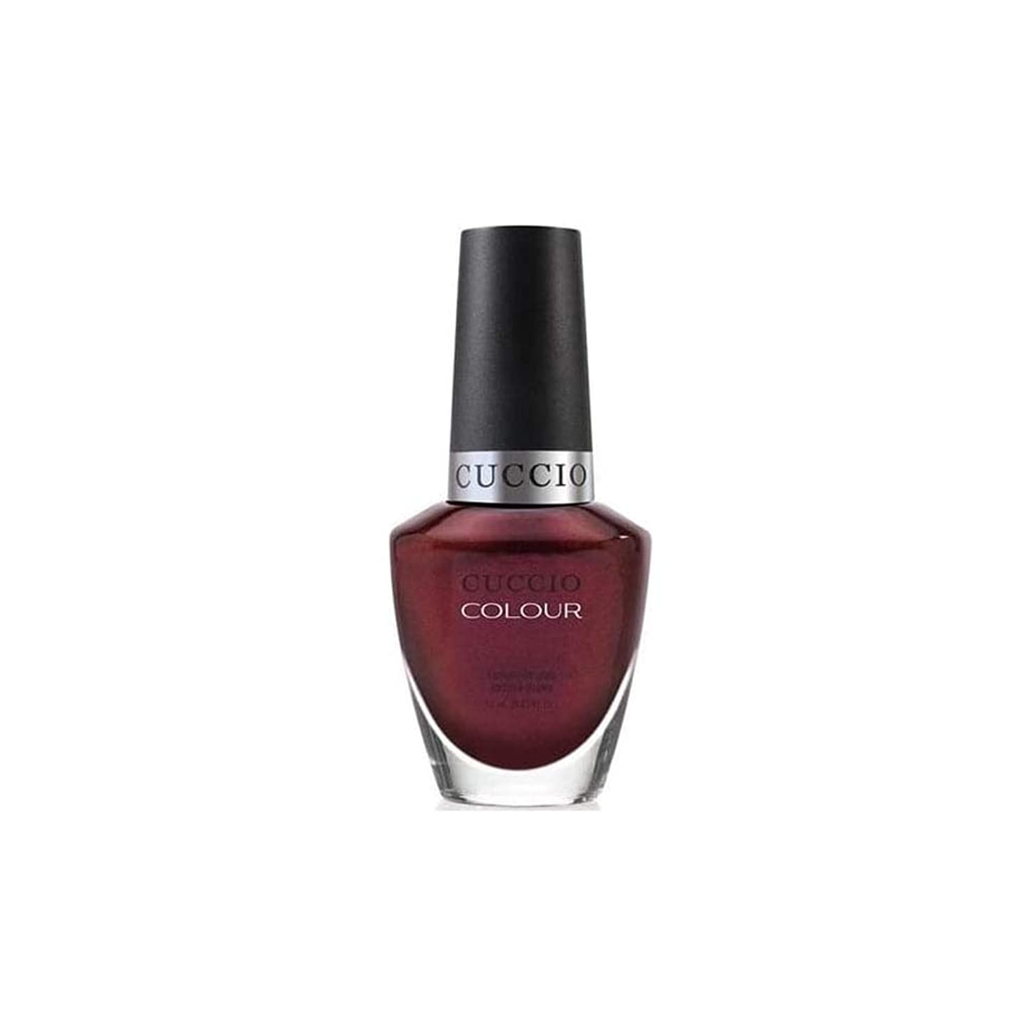 村止まる吸収剤Cuccio Colour Gloss Lacquer - Royal Flush - 0.43oz / 13ml