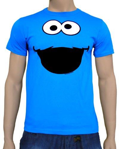Gezichten Cookie Monster Logoshirt T-Shirt Zwembad, L