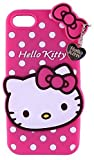 Navnika® for Apple i-Phone 5G Hello Kitty Back Cover, Soft Silicone Rubber Back