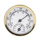 R-WEICHONG Termómetro analógico e higrómetro de humedad de 58 mm para el hogar