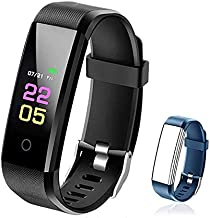 ANCwear Fitness Tracker - Activity Tracker Watch with Heart Rate Blood Pressure Monitor, Waterproof Watch with Sleep Monitor, Calorie Step Counter Watch for Kids Women Men Compatible Android iPhone
