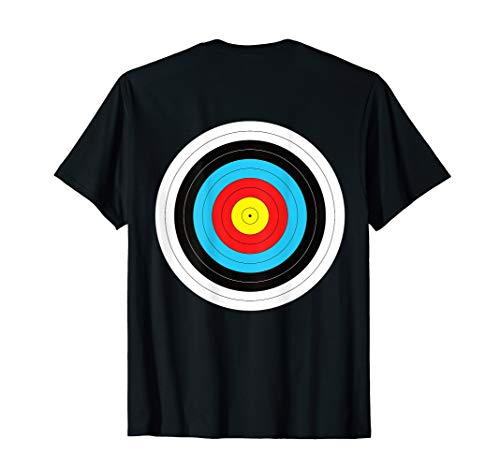 (Print on Back) Funny Archery Target T-Shirt