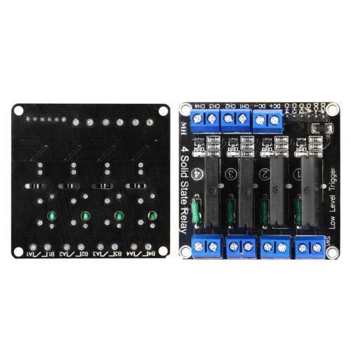 4 Kanal Solid State Relais 5V 2A Omron Modul G3MP-202P für Arduino Raspberry Pi