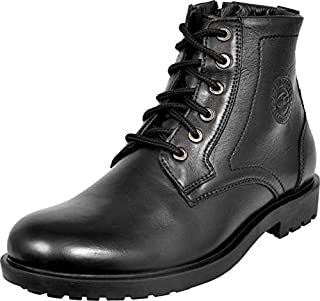 Allen Cooper ACCS-824 High Ankle Genuine Leather Boots for Men