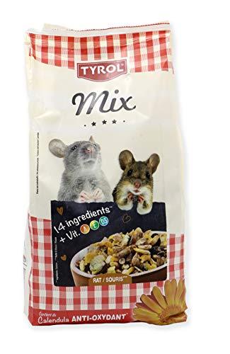 TYROL Mix Menu completo Premium Rat topi pasti roditori misti vitamine/antiossidante