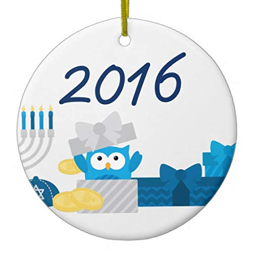 Babys First Hanukkah Ornaments Christmas Tree Decoration Xams GIFS First for New Couples
