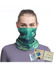 BYL Seamless COOLMAX Face Mask, Neck Gaiter. Multipurpose and UV Protection for Running, Hiking, Trekking, Kayaking, Camping & Outdoor activities. Great gifts for men & women