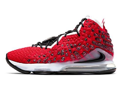 Nike Herren Lebron Xvii Leichtathletik-Schuh, University Red/White-Black, 41 EU