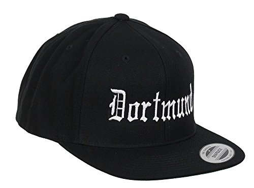 Yupoong Dortmund Snapback City Black - One-Size