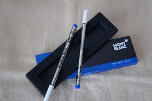 Montblanc Fineliner Mine blau 2er Packung 107874/35102