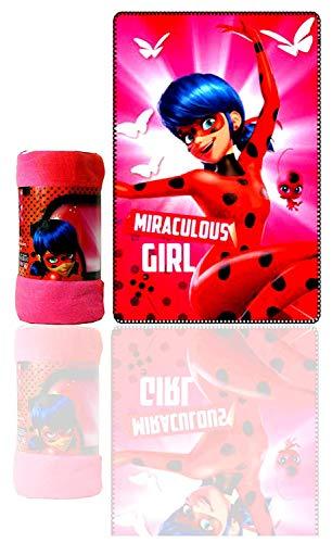 Miraculous Ladybug Kids Polarfleecedecke, 100 x 150 cm