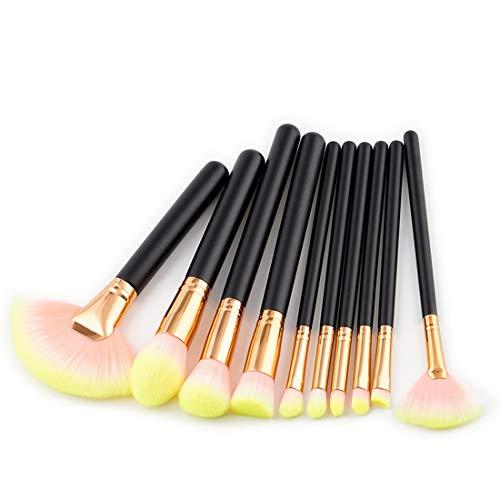 Hexiaoyi Makeup Brush Set Tools Make-up Toiletry Kit Nylon Cosmetic Brush Eye Brush (Size : T-048)