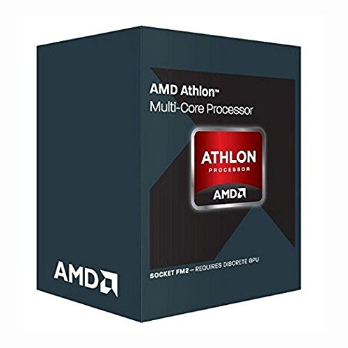AMD Athlon II X4 - Microprocesador (870K 3.9 GHz, Socket FM2+ Box) Color Plata