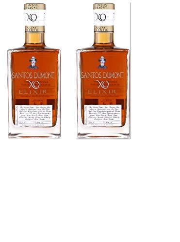 2 Flaschen Santos Dumont Rum Elixir liquer a 700ml (2 x 700ml) 40% Vol.