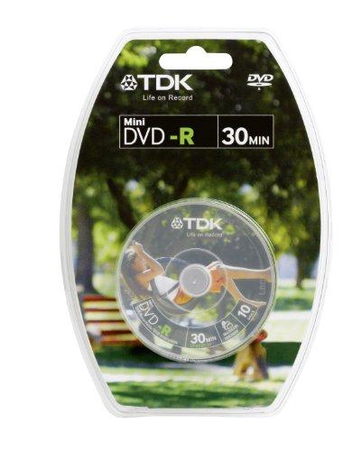 TDK T19489 DVD regrabable - DVD+RW vírgenes (1,4 GB, DVD-R