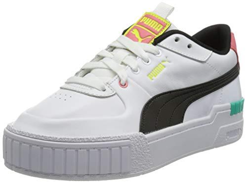 Puma Damen CALI Sport WN S Sneaker, White-Elektro Pool, 41 EU