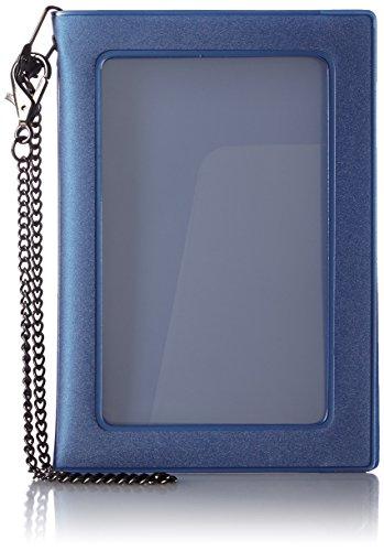 [コンサイス] チェーン付パスポートカバー ブルー 13.8cm 210849 BL ブルー