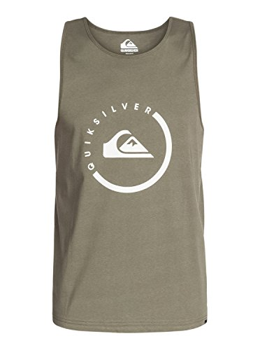 Quiksilver Everyday - Débardeur - Sans manche - Homme - Vert (Dusty Olive) - Small (Taille fabricant: Small)