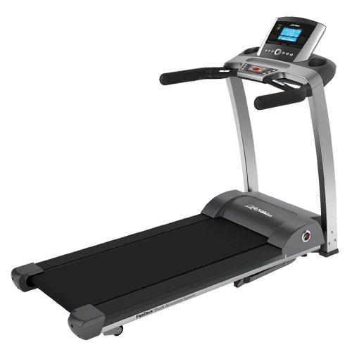 Life Fitness F3 Go. Klappbares Laufband - Modell 2018. Inkl. Matte und Polar Pulsuhr