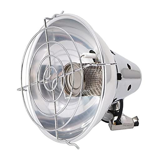 HuangjinyeTY Calentador de Ventilador eléctrico Mini Calentador portátil Estufa de calefacción para Acampar al Aire Libre en el hogar