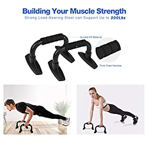 Syntus Ab Wheel Roller Kit, 6-in-1 AB Wheel Roller with Knee Pad Push Up Bars Handles Grips Adjustable Skipping Jump Rope, Home Gym Workout Exercise Equipment for Men Women Boxing MMA Fitness Training