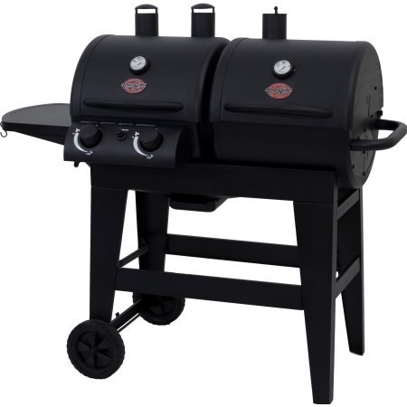 Char-Griller Dual 2 Burner Charcoal/Gas Grill