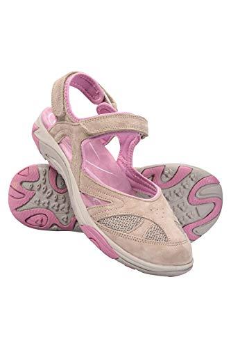 Mountain Warehouse Bournemouth Damen-Sandalen - bedeckte, langlebige, legere Sommerschuhe, Flip-Flops, leicht, einfach zu pflegen - zum Spazierengehen, Strand, Urlaub Braun 39 EU