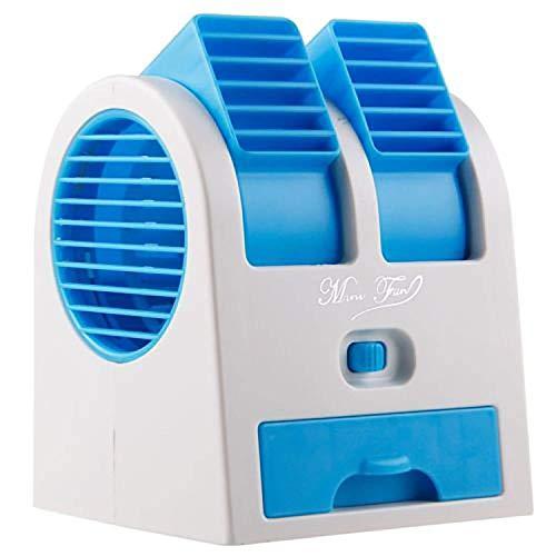 LEUCK Mini Cooler Fan AC, USB Cooling Fan for car Home Office,...