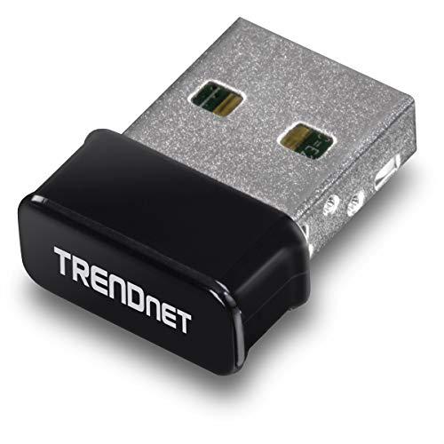 TRENDnet Micro N150 Wireless & Bluetooth 4.0 USB Adapter, Klasse 1, N150, Bis zu 150Mbps WiFi N, TBW-108UB