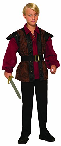 Forum Novelties Renaissance Faire Boy Child's Costume, Large