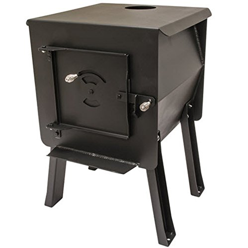 England's Stove WorksSurvivor 12-CSM 'Blackbear' Portable Camp/Cook Wood Stove 1.8 Cubic Feet